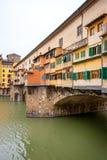 Ponte Vecchio. Florence Italien Royaltyfri Foto