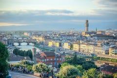 Ponte Vecchio - Florence - Italien Royaltyfria Foton