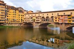 Ponte Vecchio in Florence. Ponte Vecchio in Florence in Italy Royalty Free Stock Photos