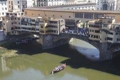 Ponte Vecchio, Florence Italy imagen de archivo libre de regalías