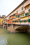 Ponte Vecchio. Florence, Italy. Ponte Vecchio over River Arno in Florence. Tuscany, Italy Royalty Free Stock Photo