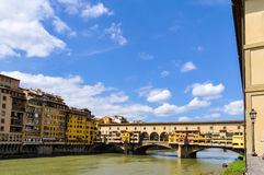 Ponte Vecchio in Florence Royalty Free Stock Photography