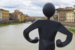 Ponte Vecchio. In Florence, Italy Stock Image