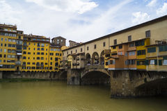 Ponte Vecchio. In Florence, Italy Royalty Free Stock Photo