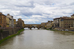 Ponte Vecchio. In Florence, Italy Royalty Free Stock Photos