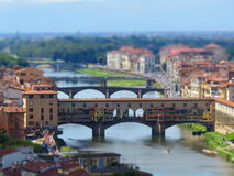 Ponte Vecchio. In Florence, Italy Royalty Free Stock Photography