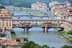 Ponte Vecchio, Florence, Italy Royalty Free Stock Photos