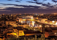 Ponte Vecchio Florence Italy Royalty Free Stock Images