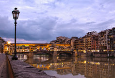 Ponte Vecchio - Florence, Italy Stock Photo