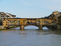 The ponte Vecchio in Florence Stock Image