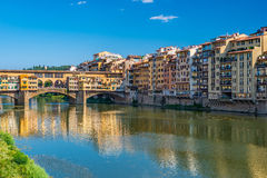 Ponte Vecchio - Florence - Italy Stock Photos