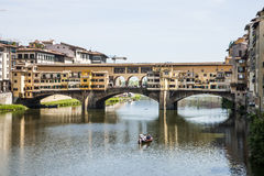 Ponte Vecchio Florence Stock Image