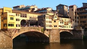Ponte Vecchio in Florence Italy Royalty Free Stock Photo
