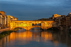 Ponte Vecchio Florence Italy Stock Photo