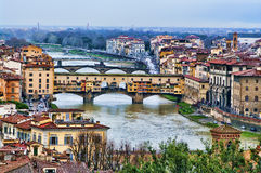 Ponte Vecchio in Florence, Italy. Stock Photography