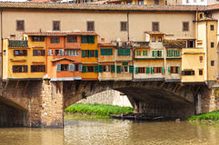 Ponte Vecchio  in Florence,  Italy. Stock Images