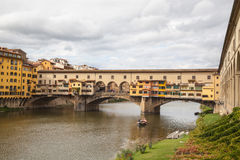 Ponte Vecchio, Florence, Italy Stock Images