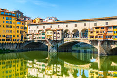 Ponte Vecchio in Florence, Italy Royalty Free Stock Photography