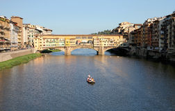 Ponte Vecchio in Florence, Italy Royalty Free Stock Image