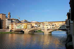 Ponte Vecchio in Florence, Italy Stock Photos