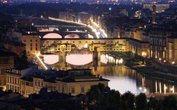 Ponte Vecchio in Florence, Italy Stock Images