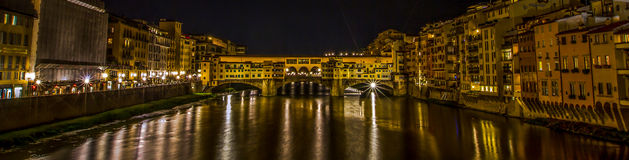 Ponte Vecchio at Florence, Italy Stock Image