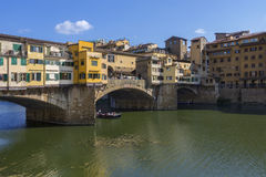 Ponte Vecchio - Florence - Italy Royalty Free Stock Photography
