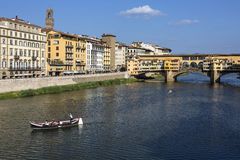 Ponte Vecchio - Florence - Italy Stock Image