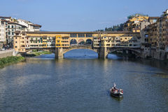 Ponte Vecchio - Florence - Italy Royalty Free Stock Photo