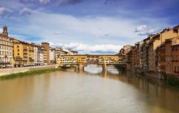 The Ponte Vecchio. Florence. Italy Stock Photo