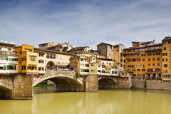 The Ponte Vecchio. Florence. Italy Stock Photography