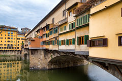 Ponte Vecchio in Florence, Italy. Royalty Free Stock Photography