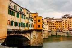Ponte Vecchio in Florence, Italy Royalty Free Stock Photos