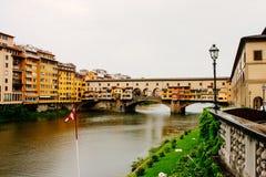 Ponte Vecchio in Florence, Italy Stock Photos