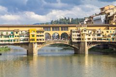 Ponte Vecchio in Florence, Italy Royalty Free Stock Photo