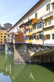 Ponte Vecchio in Florence, Italy. Royalty Free Stock Images