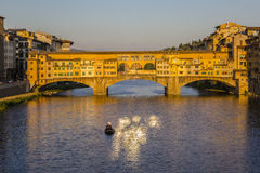 Ponte Vecchio in Florence Stock Images