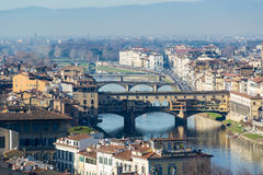 Ponte Vecchio in Florence Royalty Free Stock Photo