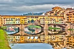 Ponte Vecchio in Florence Stock Image
