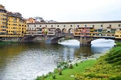 Ponte Vecchio in Florence. Ponte Vecchio in Florence in Italy Royalty Free Stock Photo
