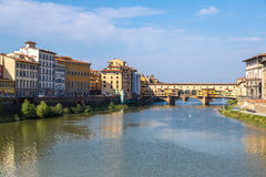 The Ponte Vecchio in Florence Royalty Free Stock Photos