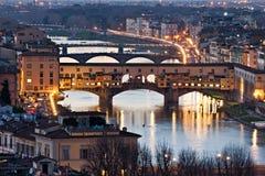 Ponte Vecchio, Florence. Tuscany. Stock Photography