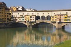 Ponte Vecchio, Florence, Tuscany, Italy Stock Photography