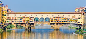 Ponte Vecchio in Florence Stock Photography