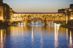 Ponte Vecchio, Florencia imágenes de archivo libres de regalías