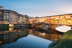 Ponte Vecchio, Florencia Foto de archivo