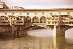 Ponte Vecchio, Florencia Fotos de archivo libres de regalías