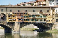 Ponte Vecchio Florencia Foto de archivo