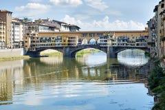 Ponte Vecchio Florencia Fotos de archivo libres de regalías