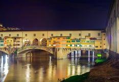 Ponte Vecchio, Florencia Fotografía de archivo